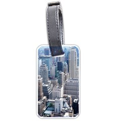 Manhattan New York City Luggage Tags (two Sides)