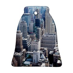 Manhattan New York City Bell Ornament (two Sides)