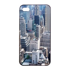 Manhattan New York City Apple Iphone 4/4s Seamless Case (black)