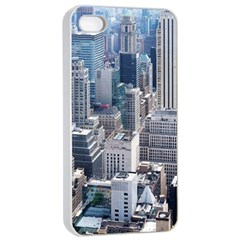 Manhattan New York City Apple Iphone 4/4s Seamless Case (white)