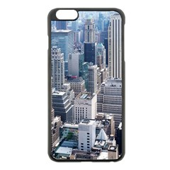 Manhattan New York City Apple Iphone 6 Plus/6s Plus Black Enamel Case