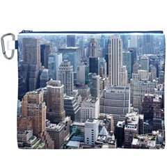 Manhattan New York City Canvas Cosmetic Bag (xxxl)
