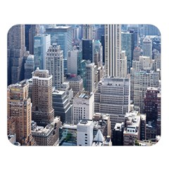 Manhattan New York City Double Sided Flano Blanket (large)
