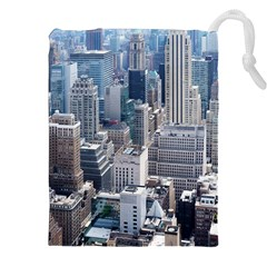 Manhattan New York City Drawstring Pouches (xxl)