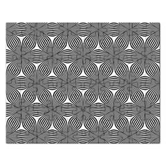 Seamless Weave Ribbon Hexagonal Rectangular Jigsaw Puzzl