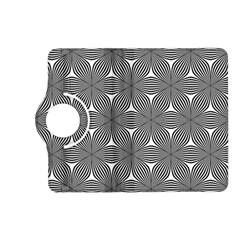 Seamless Weave Ribbon Hexagonal Kindle Fire Hd (2013) Flip 360 Case