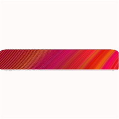 Abstract Red Background Fractal Small Bar Mats