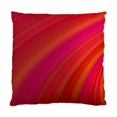 Abstract Red Background Fractal Standard Cushion Case (two Sides)