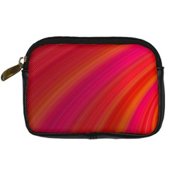 Abstract Red Background Fractal Digital Camera Cases