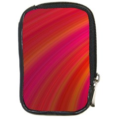 Abstract Red Background Fractal Compact Camera Cases