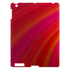 Abstract Red Background Fractal Apple Ipad 3/4 Hardshell Case