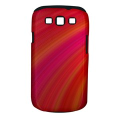 Abstract Red Background Fractal Samsung Galaxy S Iii Classic Hardshell Case (pc+silicone)