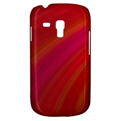 Abstract Red Background Fractal Galaxy S3 Mini