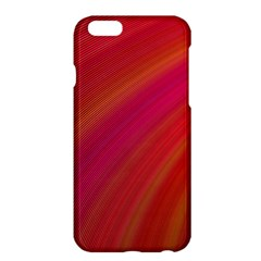 Abstract Red Background Fractal Apple Iphone 6 Plus/6s Plus Hardshell Case