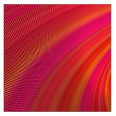 Abstract Red Background Fractal Large Satin Scarf (square)