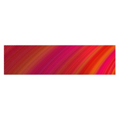 Abstract Red Background Fractal Satin Scarf (oblong)