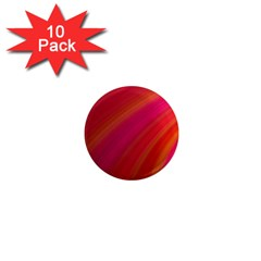 Abstract Red Background Fractal 1  Mini Magnet (10 Pack)