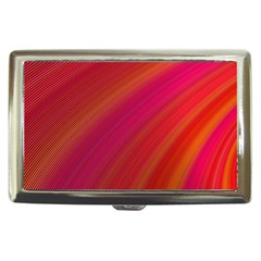 Abstract Red Background Fractal Cigarette Money Cases