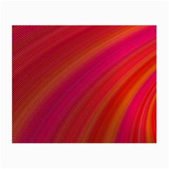 Abstract Red Background Fractal Small Glasses Cloth (2 Side)