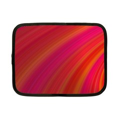 Abstract Red Background Fractal Netbook Case (small)