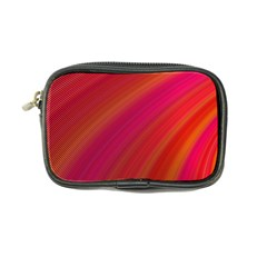 Abstract Red Background Fractal Coin Purse