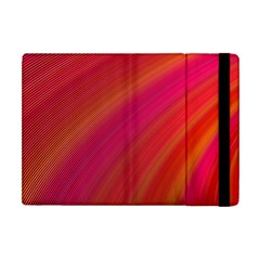 Abstract Red Background Fractal Apple Ipad Mini Flip Case