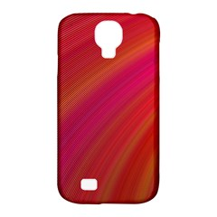 Abstract Red Background Fractal Samsung Galaxy S4 Classic Hardshell Case (pc+silicone)