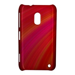 Abstract Red Background Fractal Nokia Lumia 620
