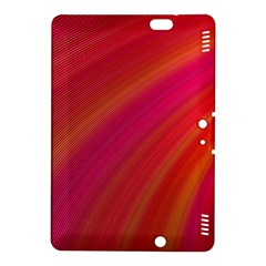 Abstract Red Background Fractal Kindle Fire Hdx 8 9  Hardshell Case