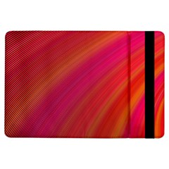 Abstract Red Background Fractal Ipad Air Flip