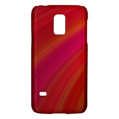 Abstract Red Background Fractal Galaxy S5 Mini