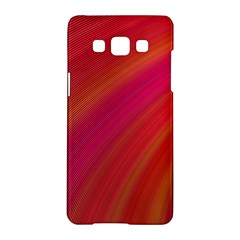 Abstract Red Background Fractal Samsung Galaxy A5 Hardshell Case