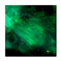 Green Space All Universe Cosmos Galaxy Tile Coasters