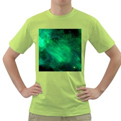 Green Space All Universe Cosmos Galaxy Green T Shirt