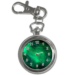 Green Space All Universe Cosmos Galaxy Key Chain Watches