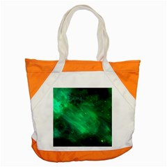 Green Space All Universe Cosmos Galaxy Accent Tote Bag
