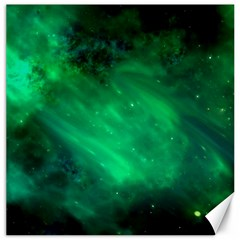 Green Space All Universe Cosmos Galaxy Canvas 20  X 20