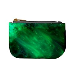 Green Space All Universe Cosmos Galaxy Mini Coin Purses