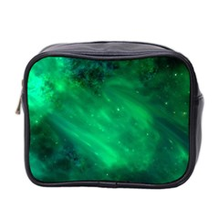 Green Space All Universe Cosmos Galaxy Mini Toiletries Bag 2 Side
