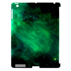 Green Space All Universe Cosmos Galaxy Apple Ipad 3/4 Hardshell Case (compatible With Smart Cover)