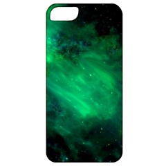 Green Space All Universe Cosmos Galaxy Apple Iphone 5 Classic Hardshell Case