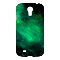 Green Space All Universe Cosmos Galaxy Samsung Galaxy S4 I9500/i9505 Hardshell Case
