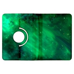 Green Space All Universe Cosmos Galaxy Kindle Fire Hdx Flip 360 Case