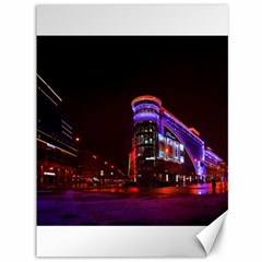 Moscow Night Lights Evening City Canvas 36  X 48