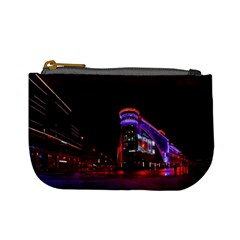 Moscow Night Lights Evening City Mini Coin Purses