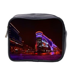 Moscow Night Lights Evening City Mini Toiletries Bag 2 Side