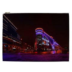 Moscow Night Lights Evening City Cosmetic Bag (xxl)