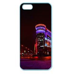 Moscow Night Lights Evening City Apple Seamless Iphone 5 Case (color)