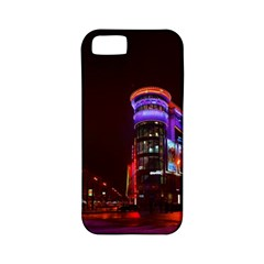 Moscow Night Lights Evening City Apple Iphone 5 Classic Hardshell Case (pc+silicone)