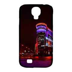 Moscow Night Lights Evening City Samsung Galaxy S4 Classic Hardshell Case (pc+silicone)